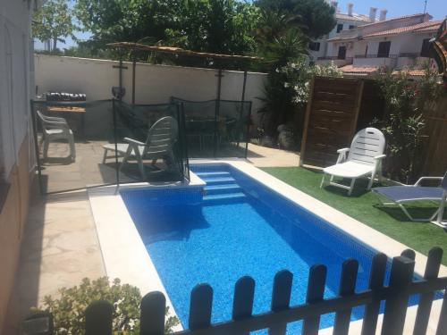 Esp Cambrils villa petite piscine privée 8 pers. 50m mer