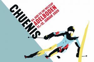 Ticket, Skiweltcup Adelboden, 12.1.20