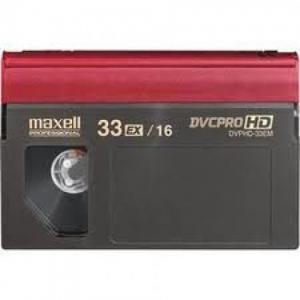 Transfert cassettes format DVCPro HD