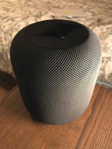 Apple HomePod (version européenne) - Gris sidéral