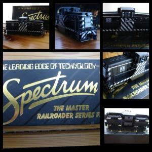 Bachmann HO Spectrum SantaFe Diesel Ton Switcher 468 GE 44