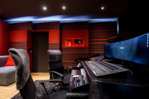 Studio d'enregistrement professionnel