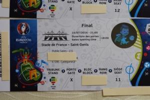 Billets pour EURO 2016 Finale