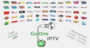 Go One IPTV , test 48h gratuit