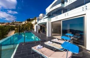 Villa de luxe à moraira pour 10 personne