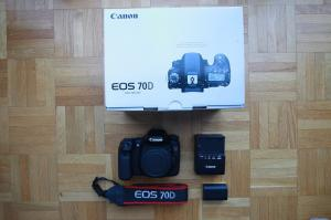 Canon EOS 70D - Comme neuf
