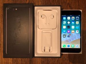 iPhone 7 plus Noir de jais 256 GB