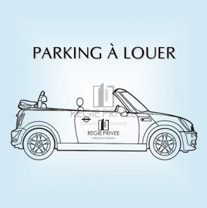 À Louer, Parking extérieur, 1580 Oleyres, Réf 0051.700607
