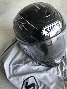 Casque moto noir SHOEI taille M 57/58 cm