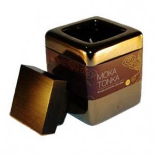 Bougie parfumée moka Tonka