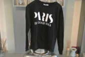 Sweat-shirt paris / Liquidation
