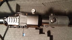 KIT réplique Red Dot Eotech Exps3 - Magnifier G33