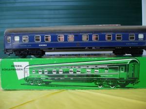 Märklin HO 4029.1 voiture couchette CIWL en métal