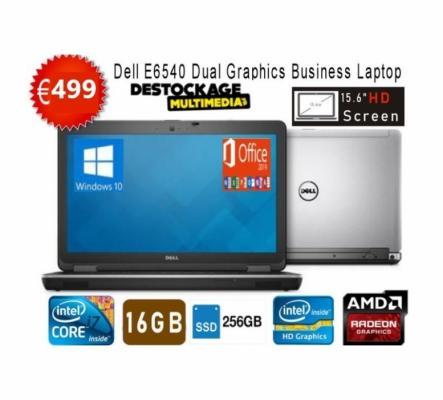 PC Portable DELL LATITUDE E6540 Core i7