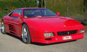 """Ferrari 348 TS avec toit """"Targa"""" CHF. 79'800.-"""