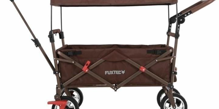 FUXTEC FX-CT700 BRUN Chariot à main remorque