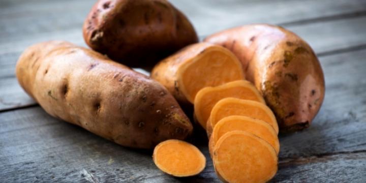 Plants de patate douce bio