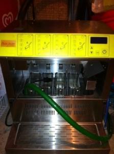 Vend machine à pâte automatique