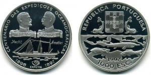 1000 Escudos - Oceanogràficas