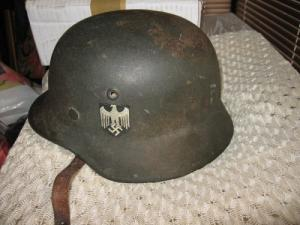 Original German WW2 Wehrmacht M42 Helmet