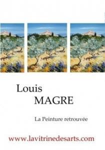 Louis MAGRE, peintre.  Livre d