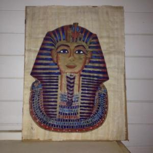 Tableau papyrus Sphynx