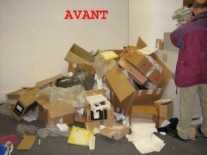 Debarras nettoyages maison appartement