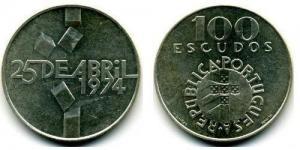 100 Escudos - 25 de Abril