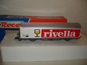 Roco HO wagon Hbis-vxy Rivella ref. 211 5 151-2 des CFF SBB