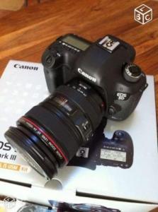 Canon eos 5d mark III + 24-105 F/4 + 3 B