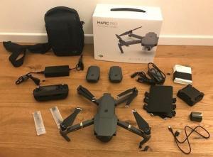 DJI Mavic Pro + Fly more Combo, Drone avec accessoires