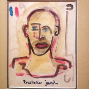 """Peinture de Joseph Diotallevi """"Portrait"""""""