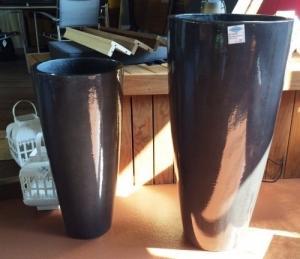 Beaux vases pour jardin
