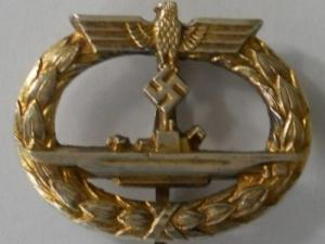 Submarine War Badge – marked Schwerin