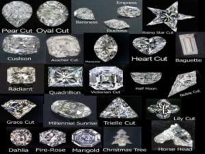 diamants taillés en vrac certifiés