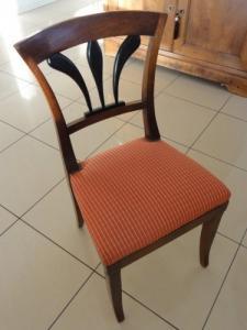 6 chaises de style directoire