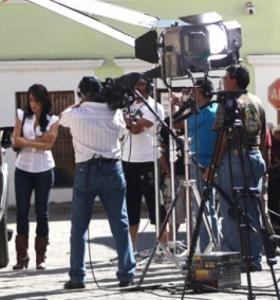 pour le tournage de deux clips reggaeton