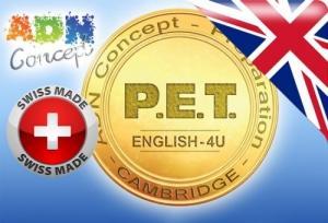 """Préparez-vous au """"PET"""" de Cambridge"""