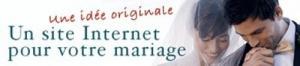 Création de sites de mariages haut de ga