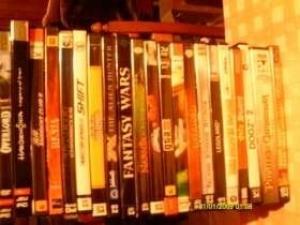 Je vends un lot de 21 jeux de PC