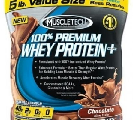 Muscletech 100% Premium Whey Protein +