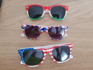 Diverse lunettes de soleil