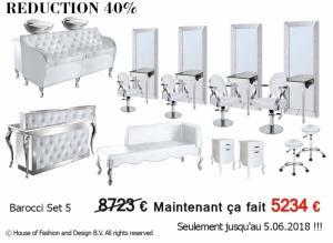 Le mobilier commercial pour le salon de beauté