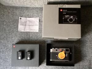 Leica M9 - Gris acier avec NOUVEAU CAPTEUR