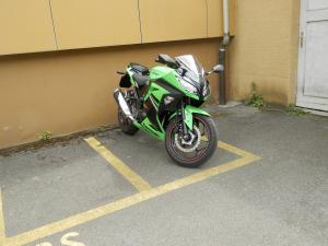 hello je vend ma moto pour cause de retrait de permis