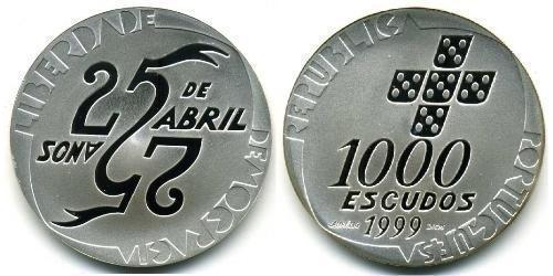 1000 Escudos - 25 de Abril