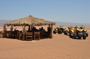 Raids quad au désert du Maroc