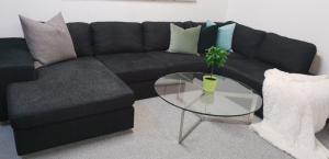 Grand et grand canapé en U