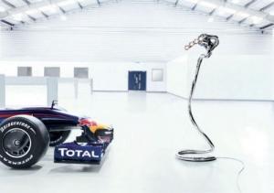 Red Bull F1 Art Original Exhaust Lamp