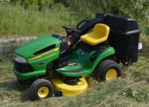 tracteur tondeuse john deere 125A